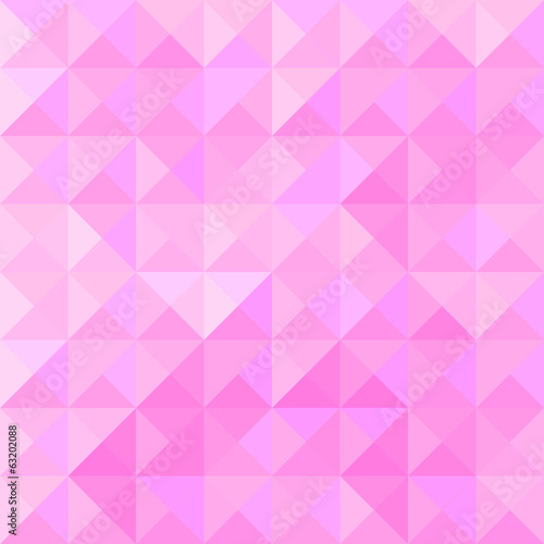 Pink triangle pattern2