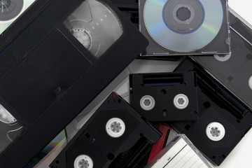 media storage video cassettes tapes tape cd convert copy