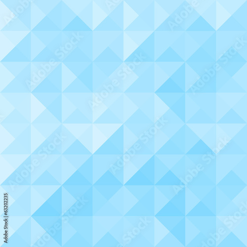 Blue triangle pattern3