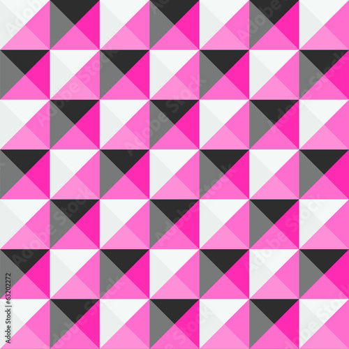 Multicolor triangle pattern for background and backdrop.