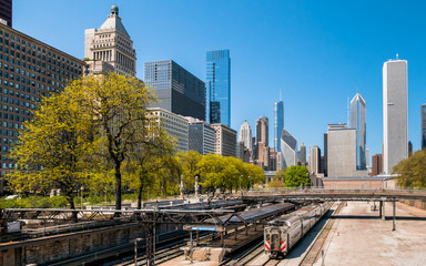 Van Buren Street Station, Chicago