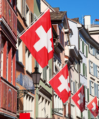 Swiss National Day in Zurich