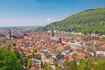 Heidelberg, die romantische Studentenstadt am Nackar