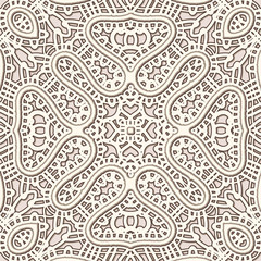 Old lace texture, vintage seamless pattern
