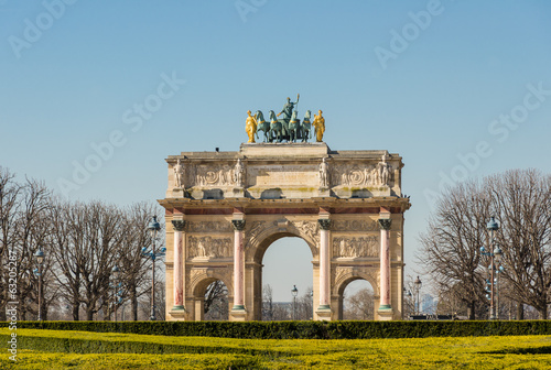 Triumphal arch in the Jardin des Tuileries