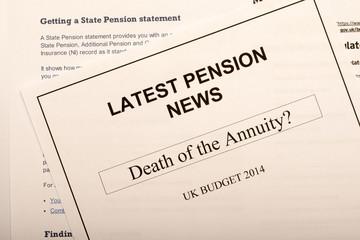 Pension change documents