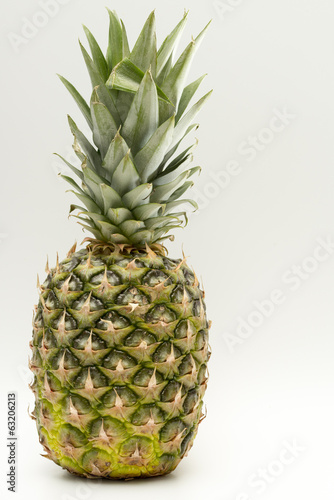 Pineapple isolated on a white background