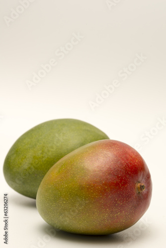 Mango fruit isolated on a white backgound