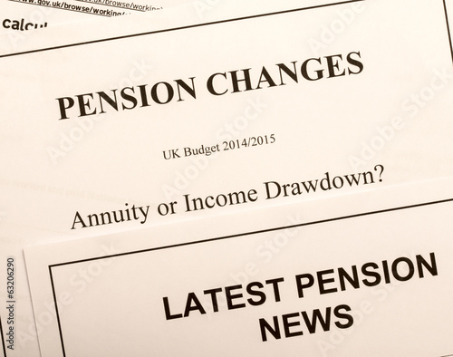 Pension change documents