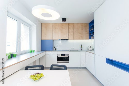 canvas print picture modern kitchen interior