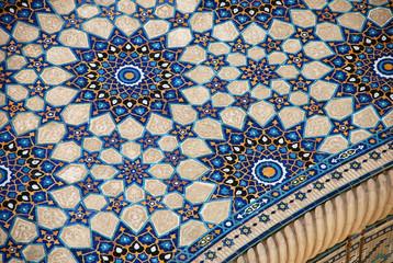 Мозаика с Медресе Улугбека на площади Регистан