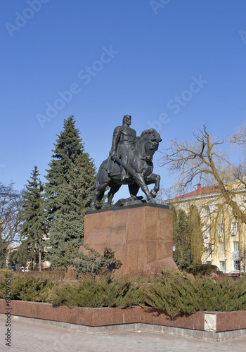 Monument to Danylo of Halych, in Ternopil