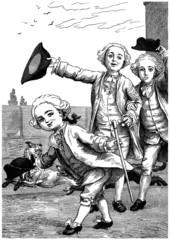 Father & Sons - Père & Fils - 17th century