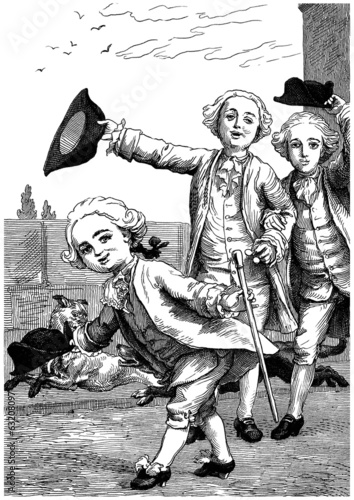 Father & Sons - Père & Fils - 17th century