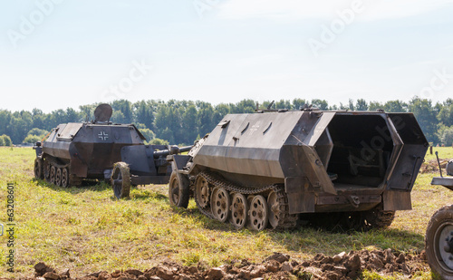German half-track armored personnel SdKfz 250