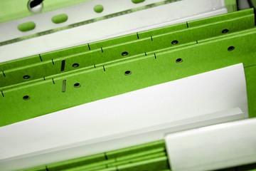 Aktenmappe grün
