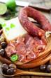 Parmesan, Salami