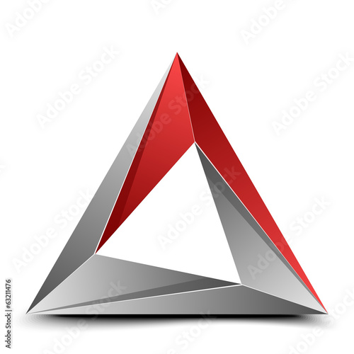 Folded triangle