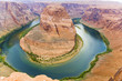 romantic horseshoe bend in page