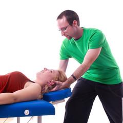 Nackenmuskeltherapie