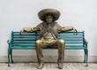 Mexican man statue - 63215406