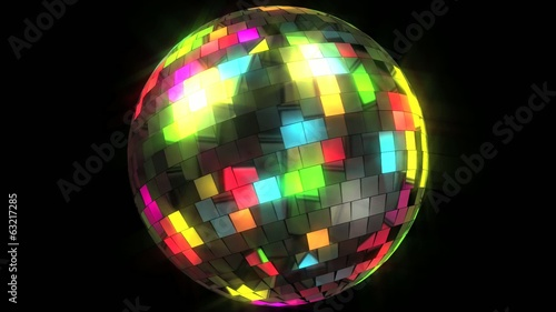 Disco ball loop + alpha