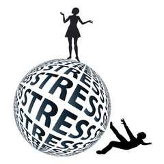 Woman stronger than Man in coping with stress