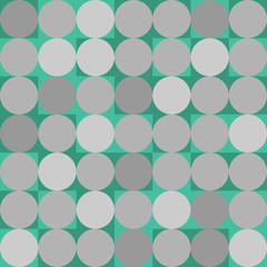 Geometric flat background in hipster coloring style