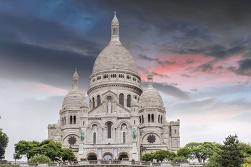 The Sacre Coeur in Paris