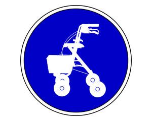 Rollatoren erlaubt