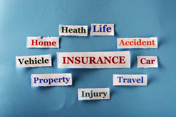 insurance collage