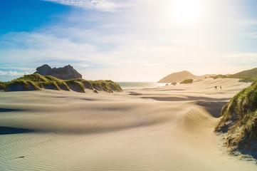 Dünen, Strandstrand, Meer,