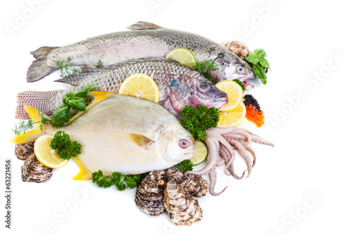 Mixed Fresh Fish