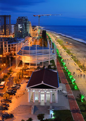 Batumi at night
