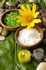 Various spa and aromatherapy