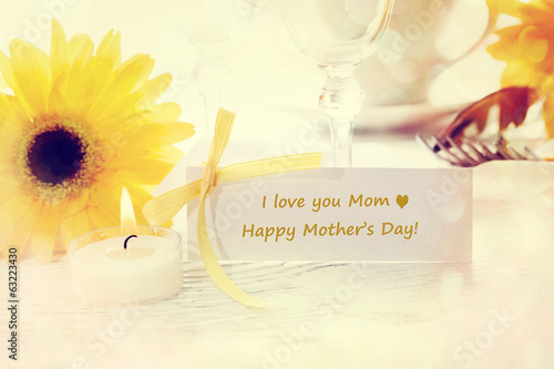 Happy Mothers Day Message Card