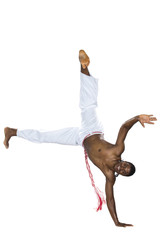 Capoeira, Brazilian Man, white pants