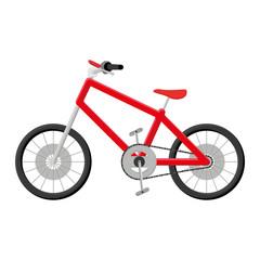 Bicycle Illustration Isolated On White Background