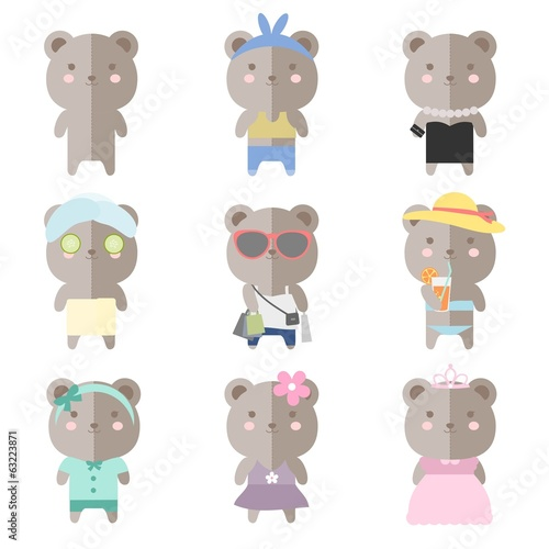 Female Teddy Bear Costumes