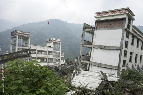 Damage Buildings of Wenchuan Earthquake