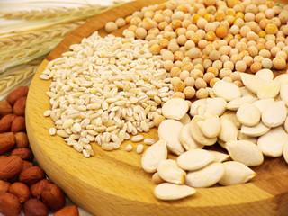 oat pea ears of wheat