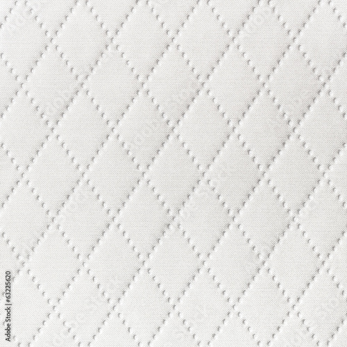 Background of textile texture with diamond pattern decoration
