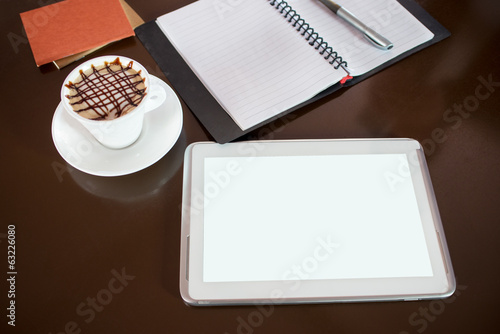 Closeup Tablet PC