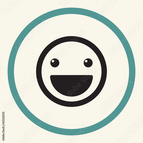 Vector Smile Icon