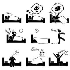 Sleeping Dreaming Nightmare Snoring Insomnia Waking Up