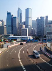Hong Kong Street and office buildings