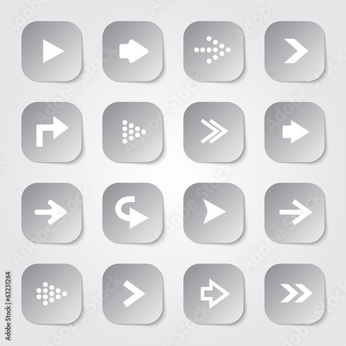Arrow Web Buttons
