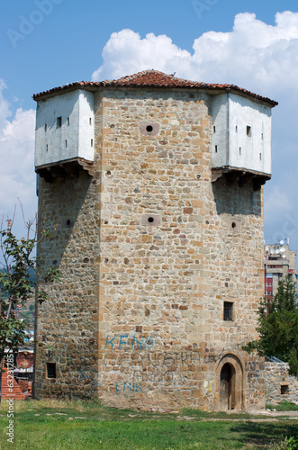 Octagonal Watchtower in Novi Pazar, Serbia
