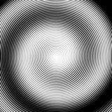 Fototapeta Design monochrome spiral movement illusion background