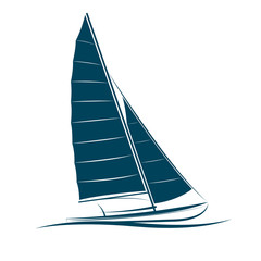 sailing boats vector.illustration